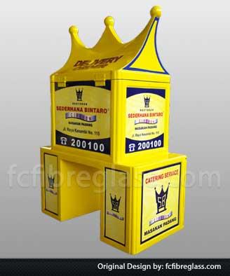 box motor delivery RM padang, box motor sederhana