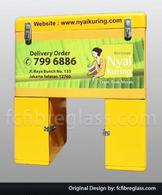 box delivery restoran, box motor kuring, box pesan antar catering,