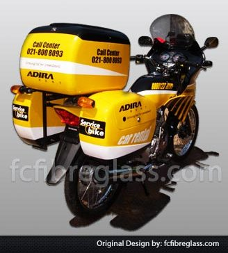 box motor delivery patroli, box motor kurir, box delivery