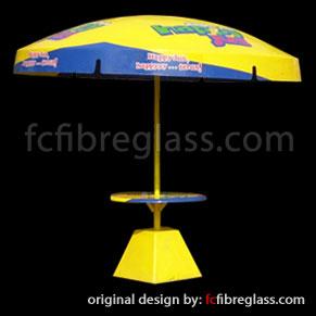 Payung Parasol Fiberglass