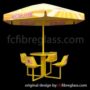 payung fiberglass
