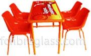 Fiberglass Products - Meja Kursi Fiberglass