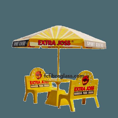 parasol fiberglass extra joss sport center