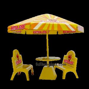 payung meja bangku fiberglass
