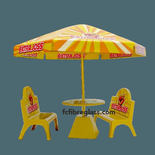 payung meja bangku fiberglass extra joss