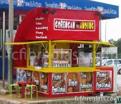 Kiosk Booth Fiberglass