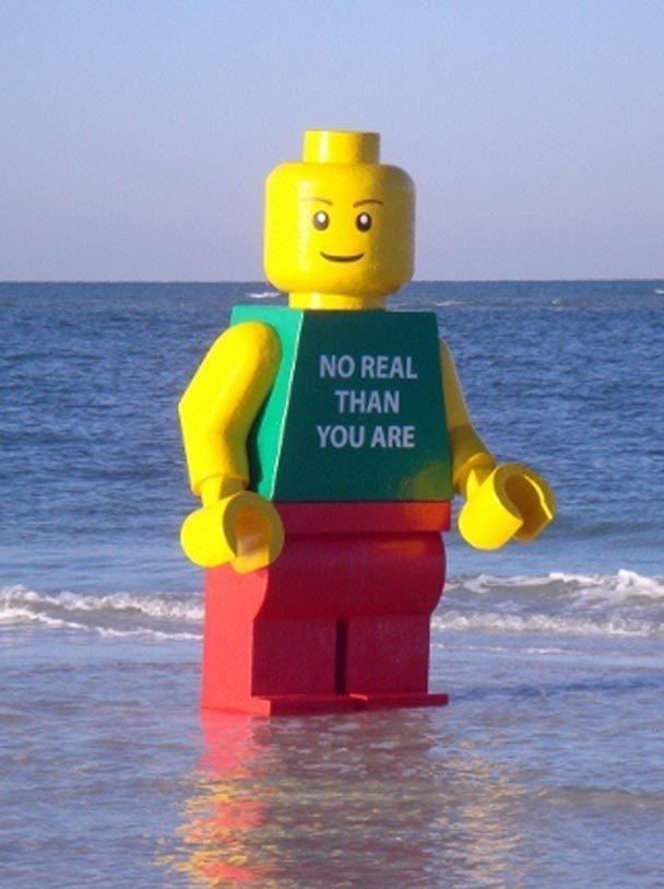 Fiberglass Lego