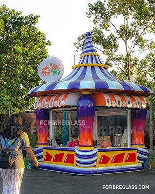 kios booth outdoor minuman