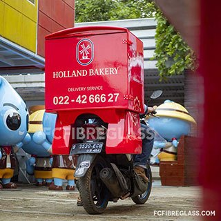 box motor delivery fiberglass holland bakery