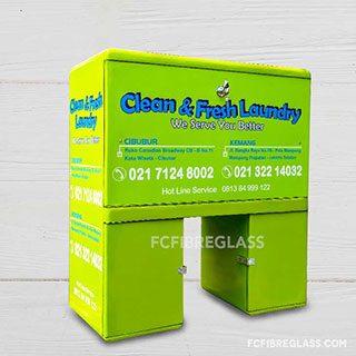 box untuk pengantaran jasa laundry