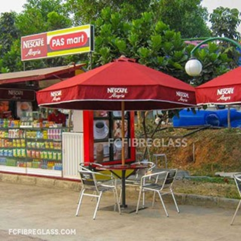 payung cafe terpaulin