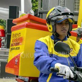 box delivery motor hokben