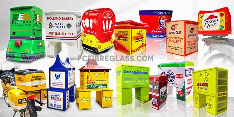 box delivery motor fiberglass